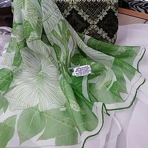 Just in! Handrolled BURMEL Vintage Floral Scarf